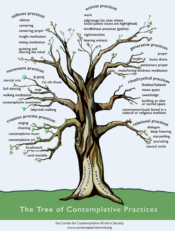 The Tree of Contemplattive Practices