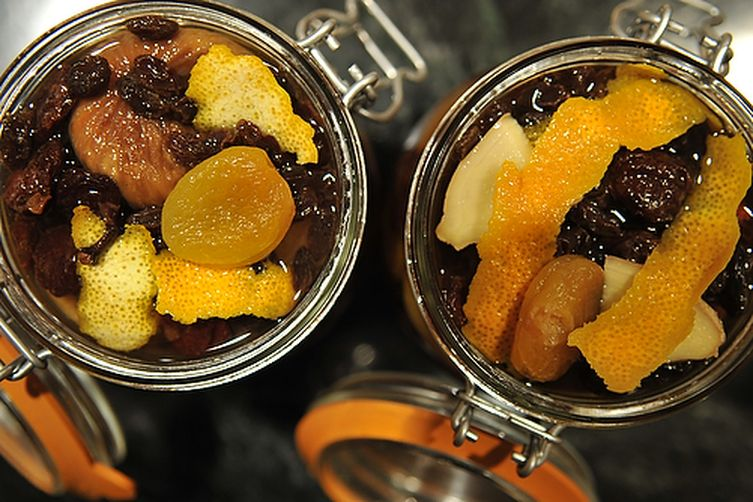 Fruit and Brandy…..Why Not?