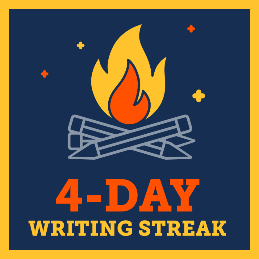 writing streak