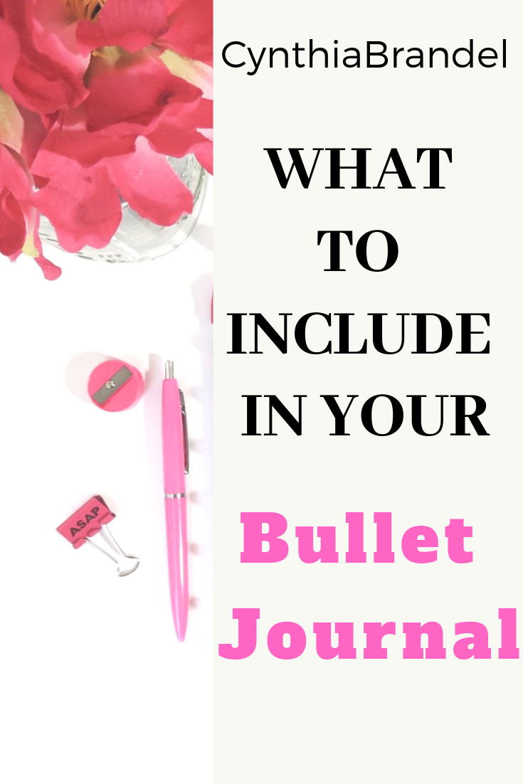 What To Include In Your Bullet Journal | Do you have a bullet journal but don't know what you want to put in it. There are so many ideas floating around the internet that it seems a bit overwhelming. This post takes the stress out of deciding and breaks down the bare essentials you need in your bullet journal.