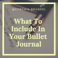 Bullet Journal Series | What To Include In Your Bullet Journal | Have you found yourself at a loss as to what you want to include in your bullet journal. There are thousands of bullet journal spreads and bullet journal blogs circulating the net, and each one says something different. This post has lists of pages you can include in you bullet journal. Click through to read more.