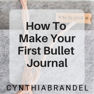 How To Make Your First Bullet Journal | Looking for a way to organize your life? Look no further. This posts will walk you through the steps to creating your first bullet journal. Click through to learn more.