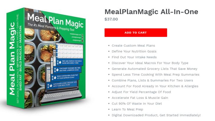 Meal Planning App