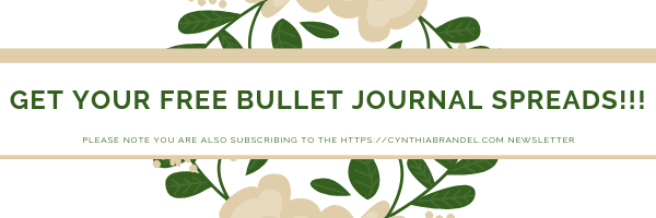 Click here to get your free bullet journal spreads