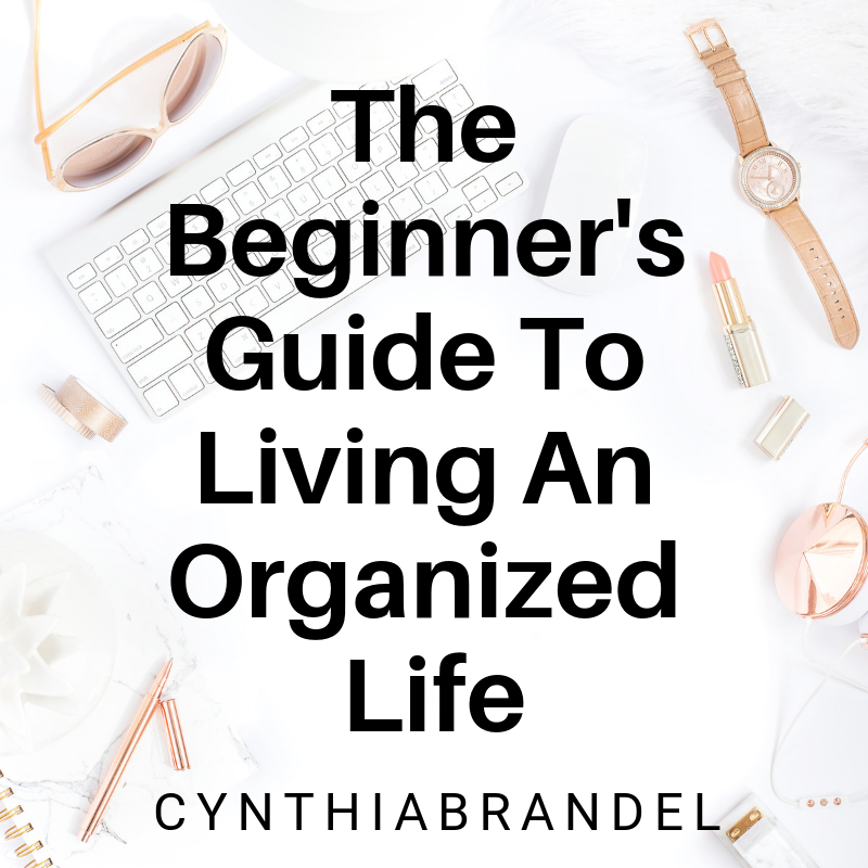 Beginners Guide To Living An Organized Life | Do you want to organize your day and prioritize your tasks to achieve maximum productivity?  This guide walks you through the ins and outs of just that.  Click here to find out more.