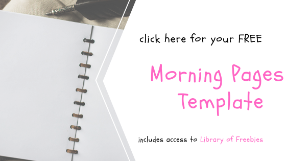 Free Template for The Morning Pages