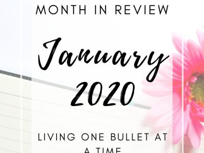 February Bullet Journal Set Up
