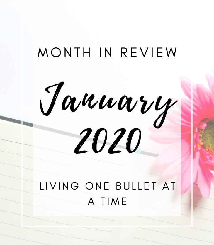 February Bullet Journal Set Up