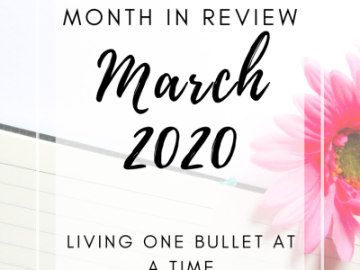 March End of Month Review